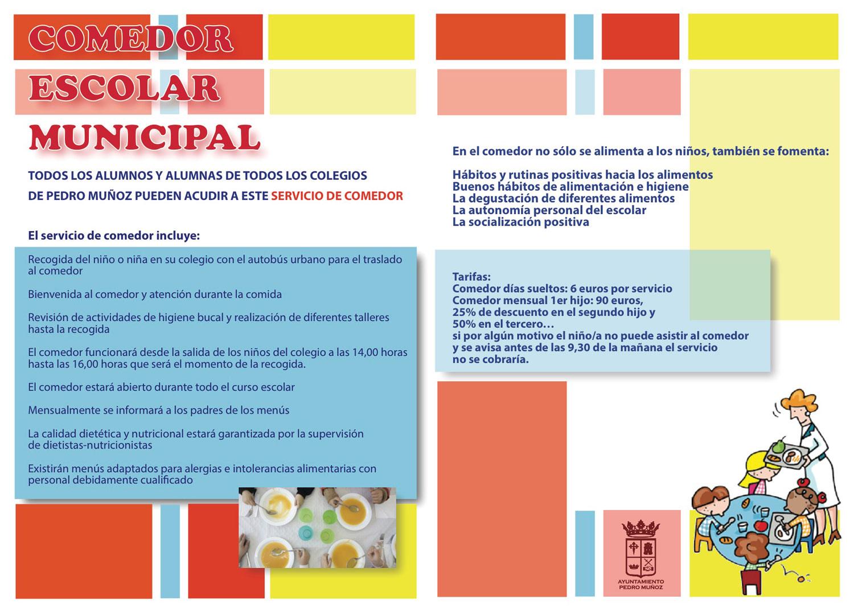 Comedor Escolar - Ayuntamiento de Pedro Muñoz